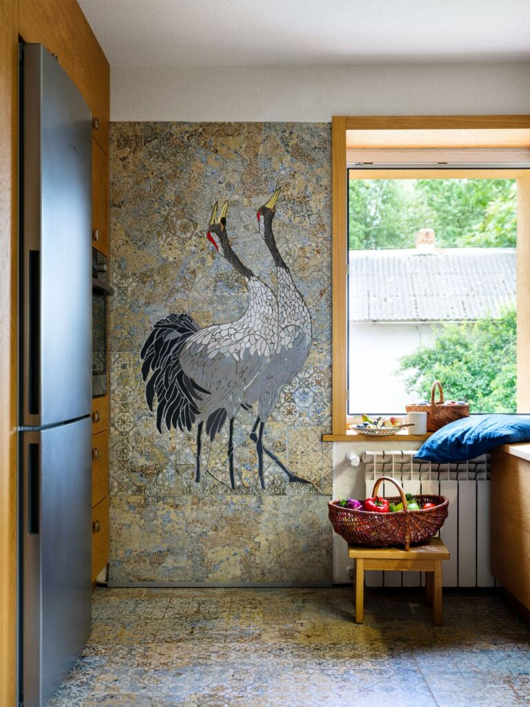 mozaika kuchnia Justyna Budzyn